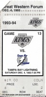Lightning at Kings 1993