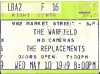 1989 The Replacements Live at The Warfield