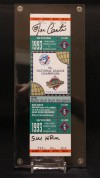 1993 World Series Game 6 ticket Phillies at Blue Jays