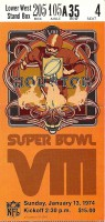 1974 Super Bowl Vikings vs Dolphins