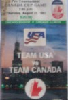 1981 Canada vs. USA hockey