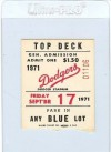 Braves at Dodgers 1971
