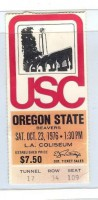 Oregon State at USC 1976