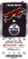 Oilers at Coyotes 2010