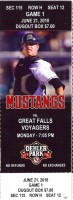 Voyagers at Mustangs 2010