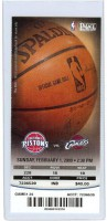 Cavs at Pistons 2009
