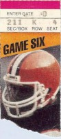 Browns at Steelers 1985