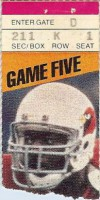 Cardinals at Steelers 1985