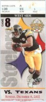 Texans at Steelers 2002