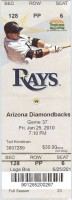 Diamondbacks at Rays 2010 Edwin Jackson no hitter