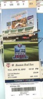 Red Sox at Twins 2010