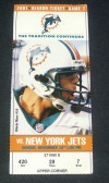 Jets at Dolphins 2001