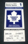 Sharks at Maple Leafs 1994 2nd Round Game 1