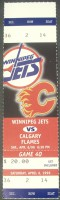 Flames at Jets 1996