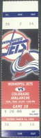 Avalanche at Jets 1996