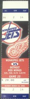 Red Wings at Jets 1996