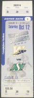 CFL Roughriders at Blue Bombers 2002