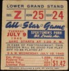 1940 MLB All Star Game in St. Louis