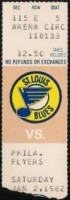 Flyers at Blues 1982