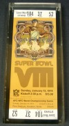 1974 Super Bowl Ticket Stub