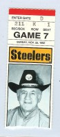 Colts at Steelers 1992