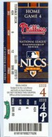 2010 Giants at Phillies NLCS Ticket Stub