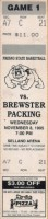 1995 NCAAMB Exh: Fresno St vs. Brewster Packing