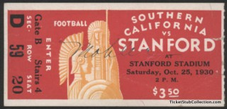 1930 USC at Stanford