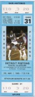 1985 NBA Spurs at Pistons