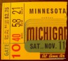 1939 NCAAF Minnesota at Michigan