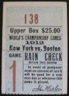 1912 World Series Game 1 Red Sox at Giants