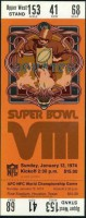 1974 Super Bowl Dolphins Vikings