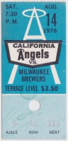 1976 Brewers at Angels