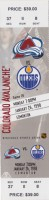 1998 NHL Oilers at Avalanche