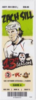 2011 AHL Wilkes Barre Scranton Penguins ticket stub vs Binghamton