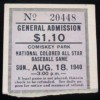 1940 National Colored All Star Game