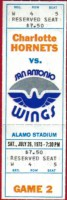 1975 WFL Hornets at Wings