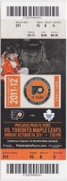 2011 Maple Leafs at Flyers
