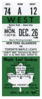 1988 Islanders at Maple Leafs