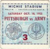 1952 NCAAF Pittsburgh at Army Michie Stadium