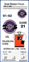1992 Flyers at Kings