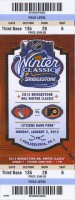 2012 NHL Midwinter Classic Rangers at Flyers