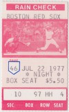 1977 Indians at Red Sox