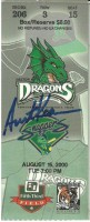 2000 MiLB Midwest League Snappers at Dragons