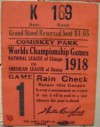 1918 World Series Gm 1 Red Sox at Cubs