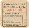 1959 Braves at Cubs
