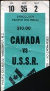 1974 WHA All Stars vs USSR Vancouver