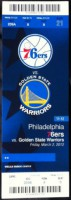 2012 Warriors at 76ers