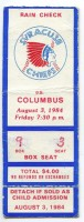 1984 MiLB Columbus at Syracuse