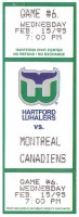 1995 Canadiens at Whalers